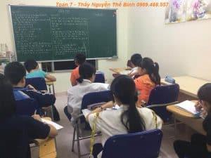 Học thêm Toán lớp 7 ở Quận Hai Bà Trưng