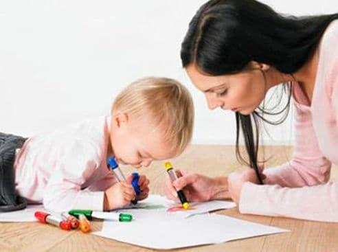 rèn luyện tính tập trung cho con
