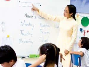 Gia sư Tiếng Anh cho học sinh Tiểu Học