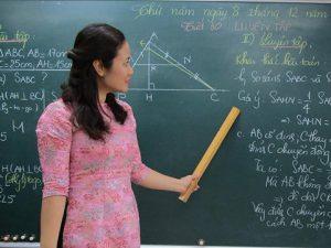 Tuyển giáo viên Toán THCS tại Hà Nội