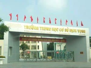 Trường THCS Dịch Vọng Hà Nội