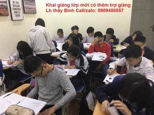 Giáo viên giỏi dạy Toán Lý Hóa cấp 3 tại Hà Nội